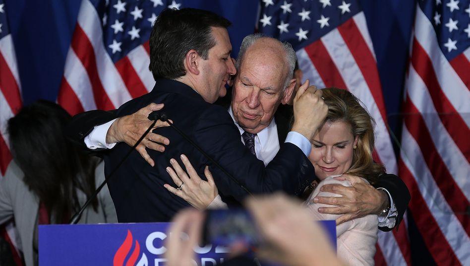 Ausstieg: Ted Cruz beendete seine Kampagne. Damit ist der Weg für Donald Trump frei