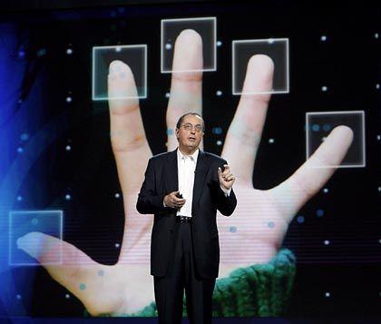 Kann zufrieden sein: Intel-Chef Paul Otellini