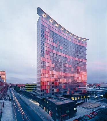 Landmarke: Das GSW-Gebäude in der Berliner Kochstraße