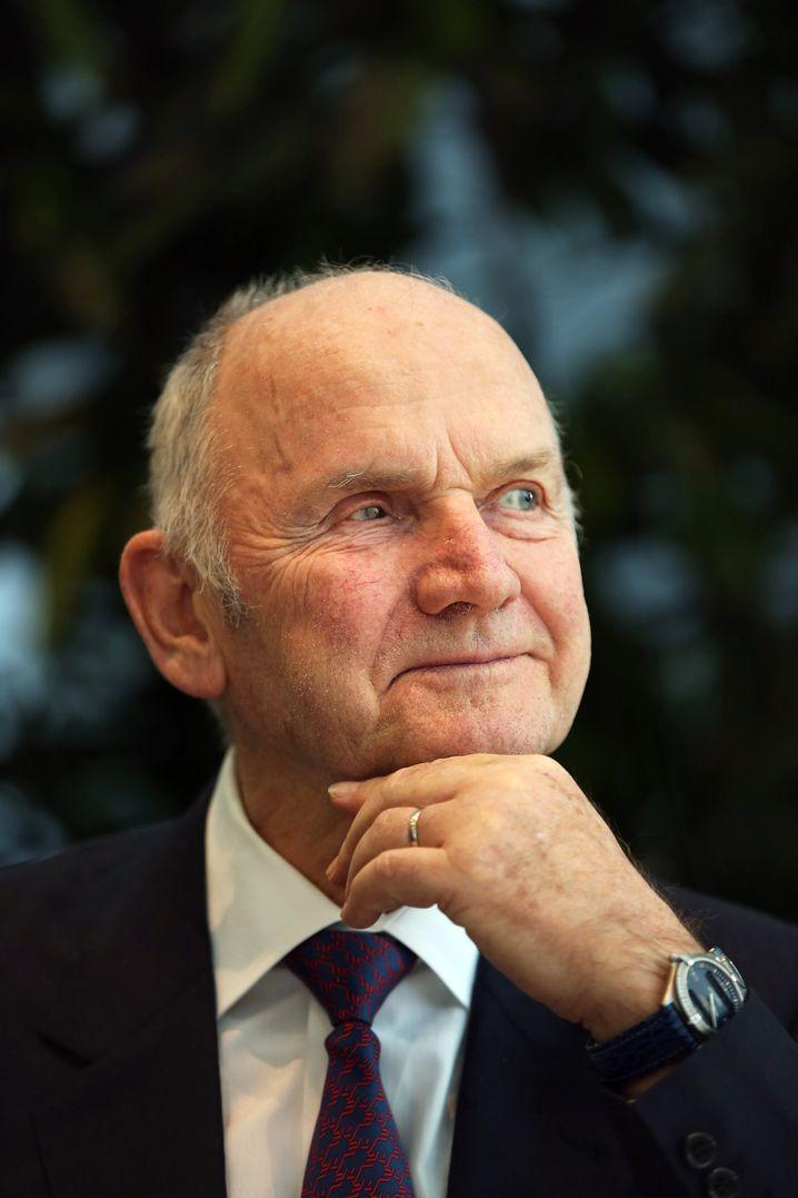 Abgang mit Donnerhall: Ferdinand Piëch (78) war lange Jahre der Älteste unter Deutschlands Aufsichtsratsvorsitzenden - und trat am Wochenende als Aufsichtsratschef von Volkswagen zurück