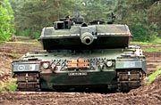Rheinmetall: Der Leopard 2-Panzer zählt zu den wichtigsten Produkten des Rüstungsunternehmens