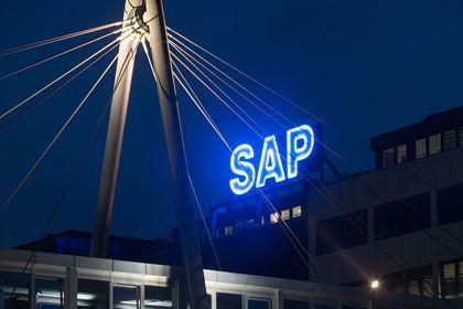Hauptquartier in Walldorf: Die SAP-Unabhängigkeit gilt von jeher intern als höchstes Gut