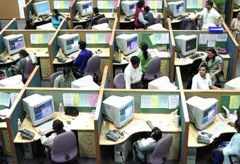 Handlangerdienste: Callcenter in Bangalore