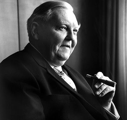 Vater der Volksaktie: CDU-Bundeswirtschaftsminister und -Bundeskanzler Erhard