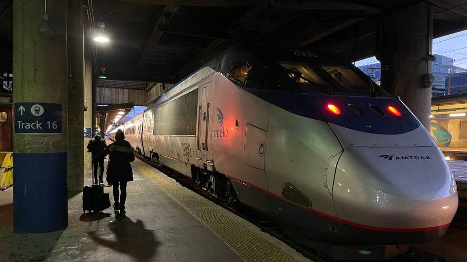 Amtrak-Zug in Washington: Siemens soll die Flotte des US-Unternehmens erneuern
