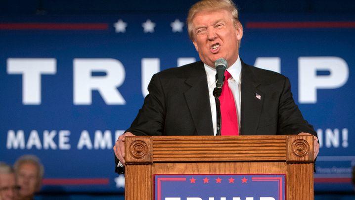 """Die besten Beleidigungen von Donald Trump: """"A totally overrated clown"""""""