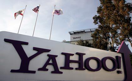 Yahoo-Sitz im kalifornischen Sunnyvale: Umsatzeinbruch um 13 Prozent