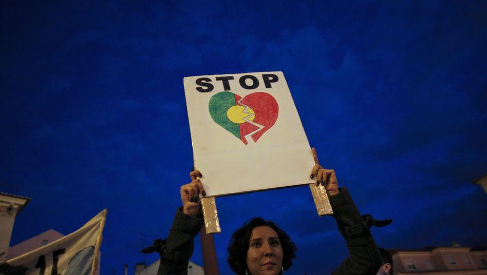 Proteste in Lissabon: Sparkurs stellt Portugiesen auf Geduldsprobe
