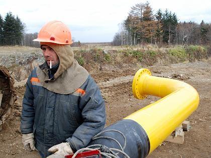 Pipelinebau auf der russischen Insel Sachalin: Der Ölrausch ist vorbei
