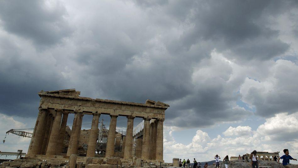 Akropolis in Athen: Ein drittes Hilfspaket gilt als wahrscheinlich