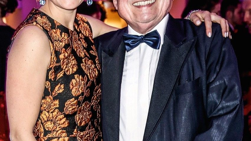 EIN HERZ FÜR DIE NATURFORSCHER Friedrich von Metzler mit Tochter Elena