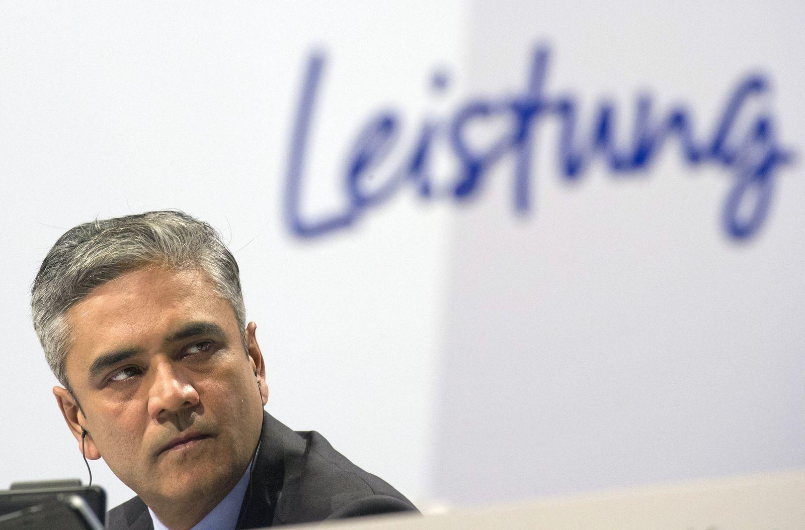 Anshu Jain / Deutsche Bank Hauptversammlung