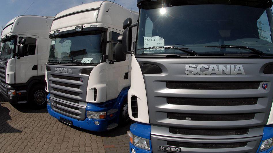 Lkw von Scania: Vor allem in Südeuropa hat sich die Nachfrage abgeschwächt