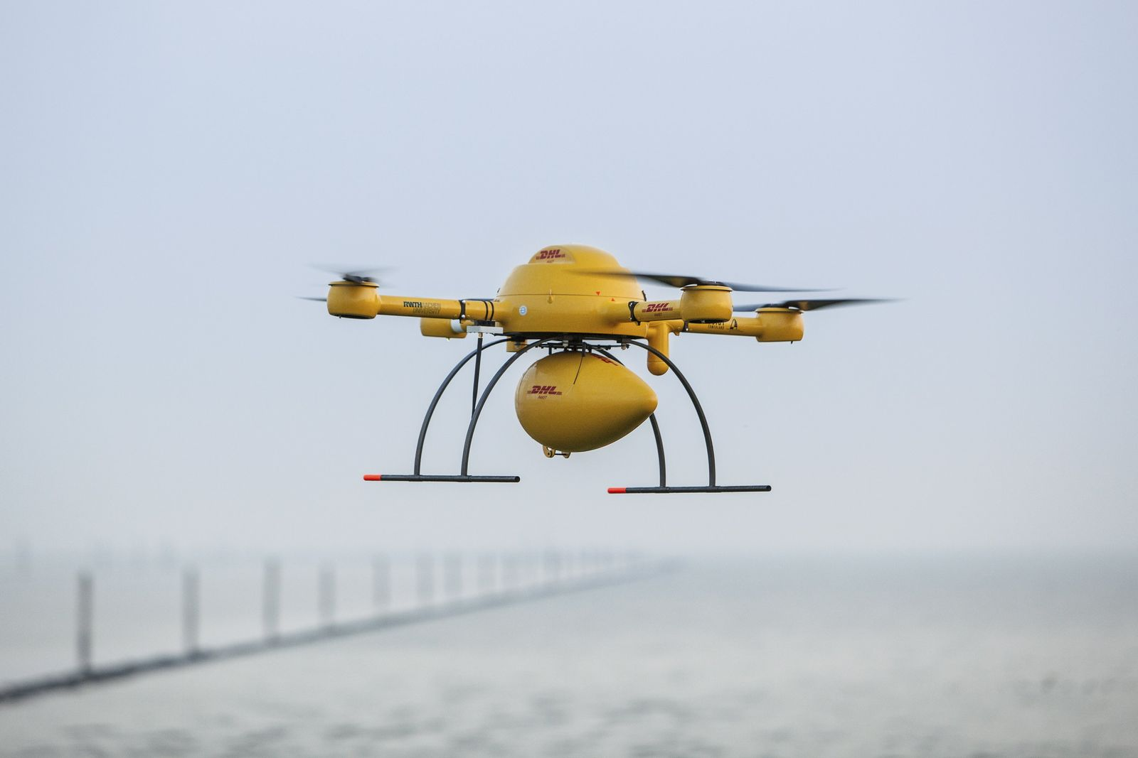 DHL / Paket-Drohne im Test