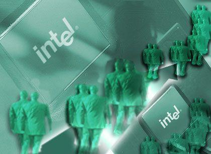 Personalbabbau bei Intel