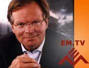 Auf Sanierungskurs: EM.TV-Chef Werner Klatten