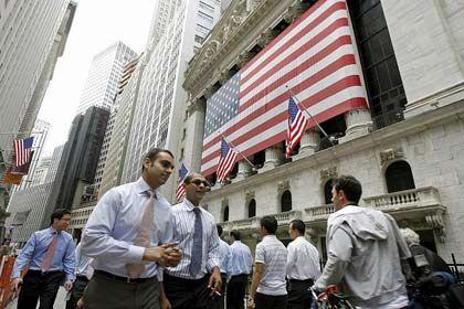 Wall Street, New York: Noch immer schlummern Gefahren in den Büchern der Banken
