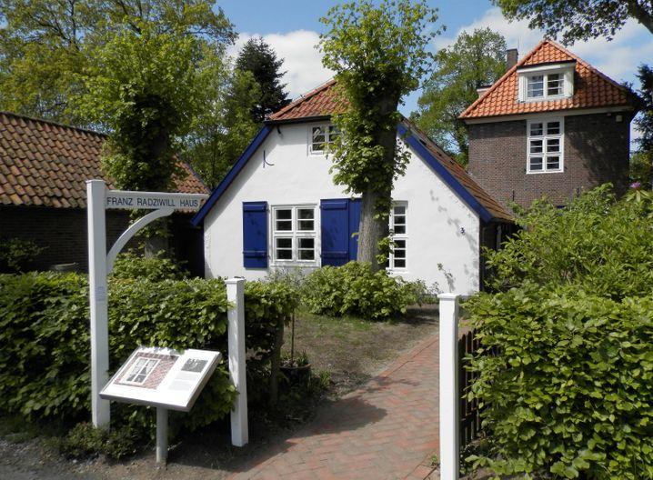 Künstler zog es schon vor mehr als 100 Jahren nach Dangast - Franz Radziwill hat dort sogar lange gelebt. Sein Haus ist heute ein Museum.