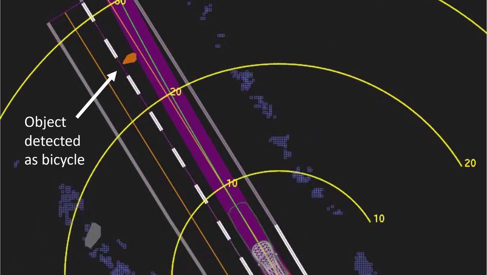 Die bei einem Unfall mit einem Uber-Roboterauto getötete Radfahrerin hätte womöglich überleben können, wenn die Software sie rechtzeitig als Mensch erkannt und die Notbremsung ausgelöst hätte