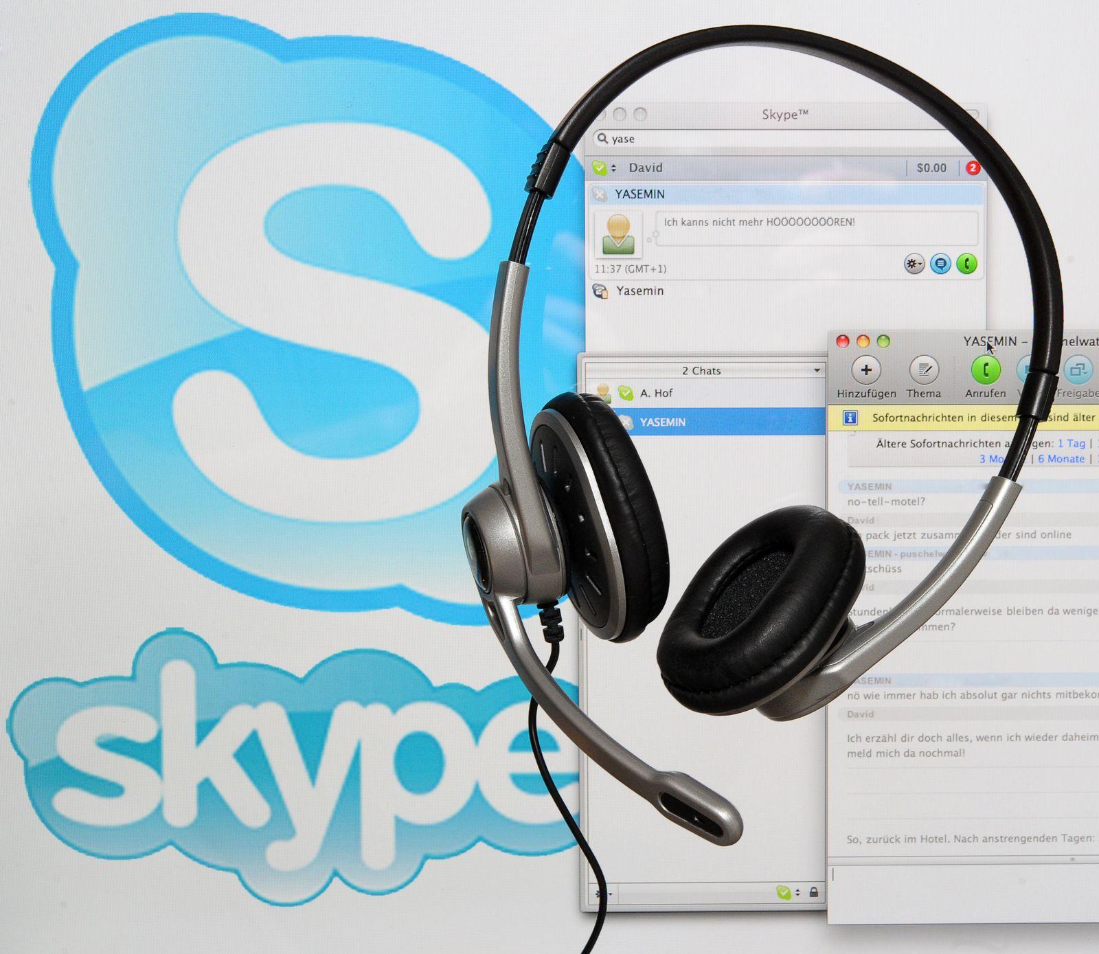 Skype / Headset / NETZWELT