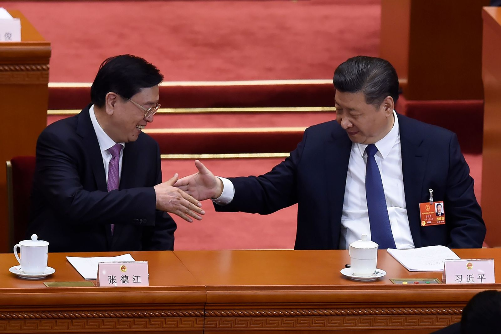 Nationaler Volkskongress/ Peking/ China/ Xi Jinping