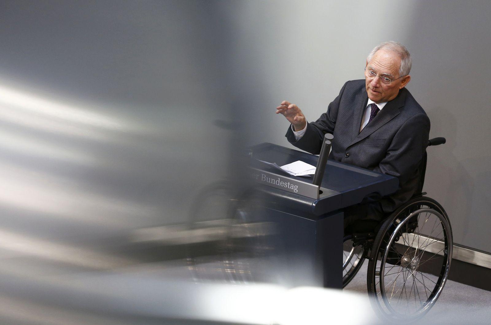 Schäuble / Bundestag