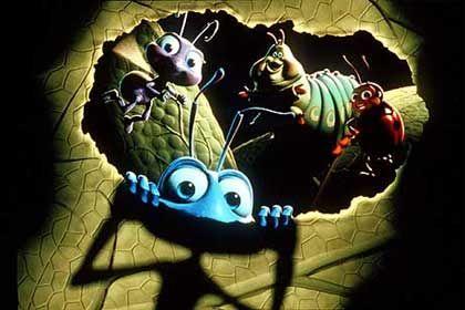 """Lauerstellung: 20th Century Fox, Warner und Columbia würden gerne mit Pixar kooperieren (Szene aus """"Das große Krabbeln"""")"""