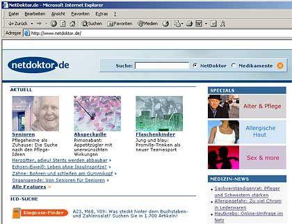 Gesundheitsportal NetDoktor: Holtzbrinck will ein umfassendes Gesundheitsangebot im Internet etablieren