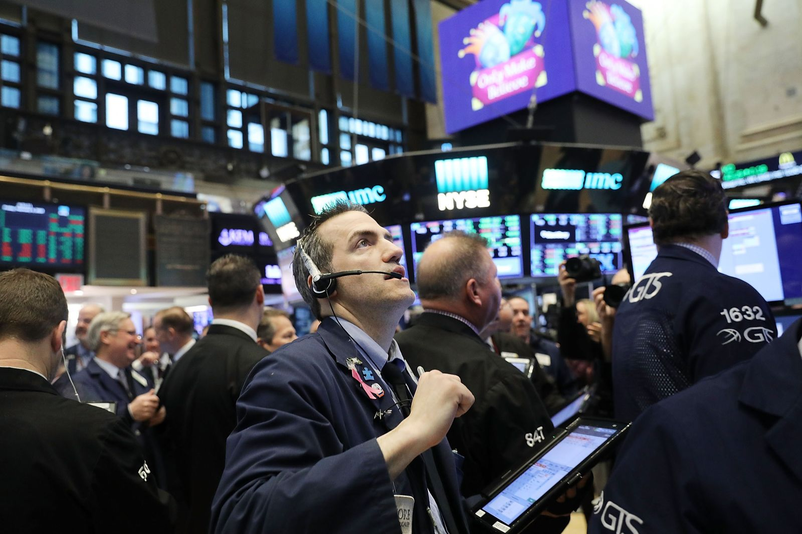 US-MARKETS-OPEN-FOR-TRADING-ONE-DAY-AFTER-DOW-PLUNGES-OVER-1000-