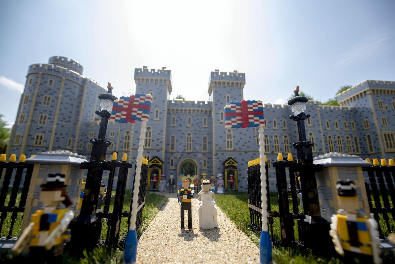 Hochzeit von Harry und Meghan im Legoland