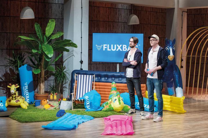 """""""FluxBag""""-Gründer Jens Thiel und Lucas Richter"""