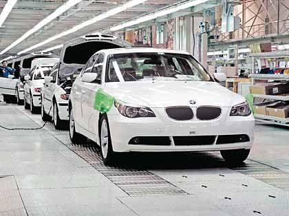 Produktionsverbund mit Brilliance: Aus der Fabrik in Shenyang rollen immer mehr BMW auf den asiatischen Markt