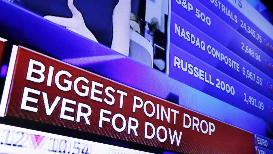 Heftige Verluste an der Börse: Viele deutsche Anleger dürften sich durch den Kurssturz bestätigt fühlen.