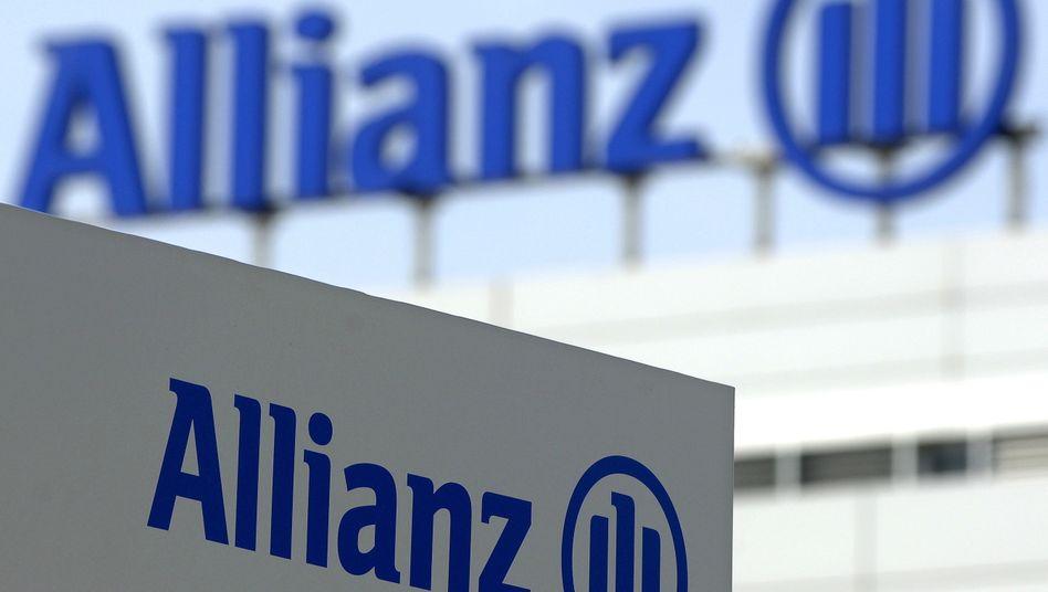 Das Logo des Versicherungskonzerns Allianz