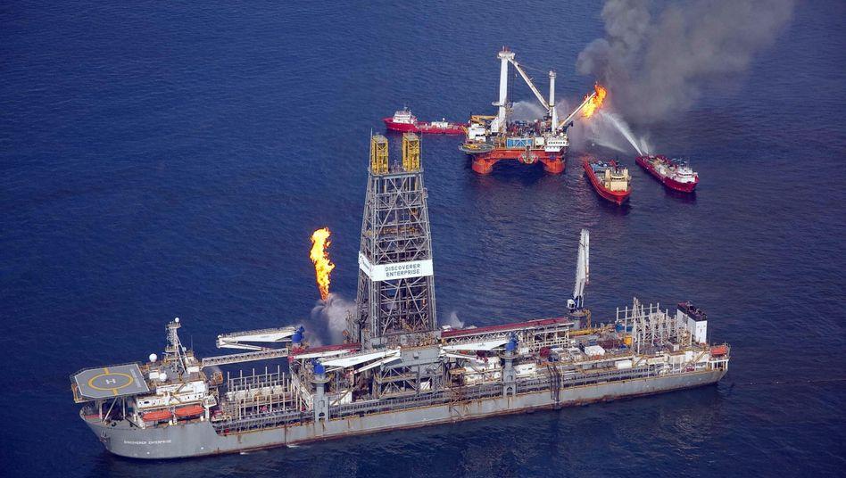 Aufräumarbeiten nach der Ölkatastrophe im Golf von Mexiko: Der japanische BP-Partner Mitsui zahlt nun dafür mit