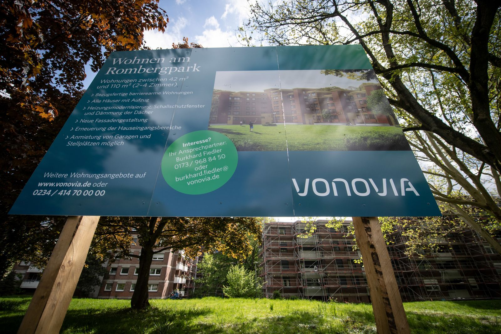 Vonovia Werbeschild