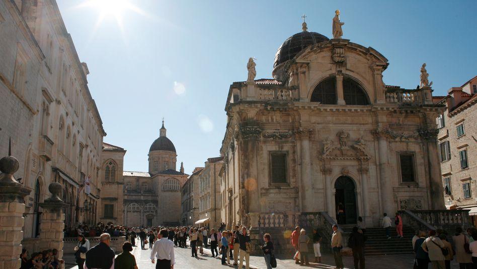 Innenstadt von Dubrovnik: Auch Kroatien gehört bald zur EU