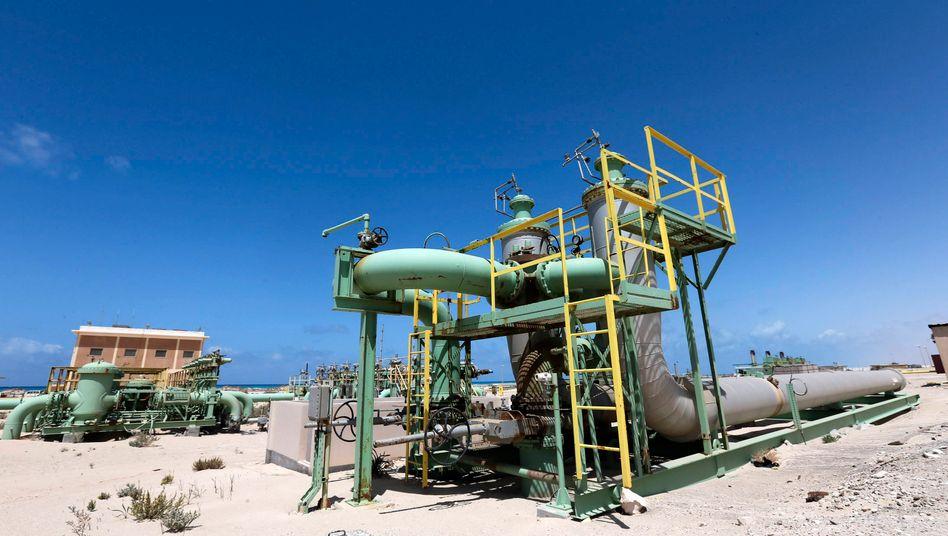 Ölanlage in Libyen