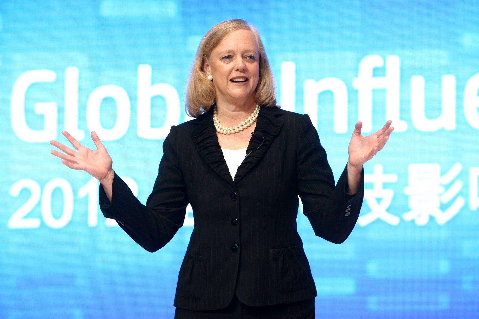 NICHT MEHR VERWENDEN! - Meg Whitman / HP President und CEO