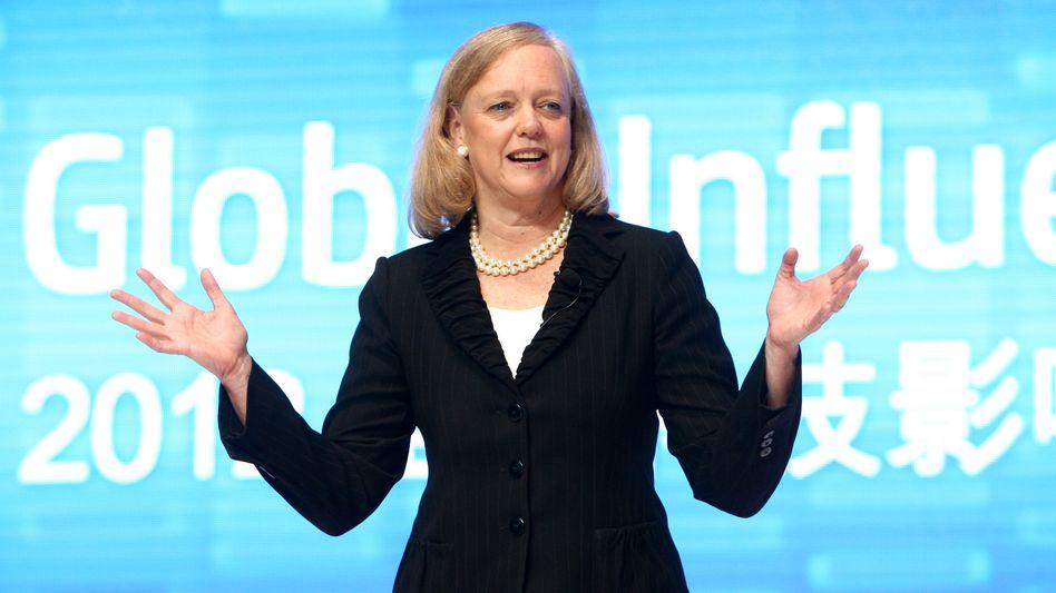HP-Chefin Whitman: Geht der Stellenabbau immer weiter?