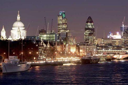 Londons schimmernde Skyline: Ein gutes Pflaster für Fondsverwalter