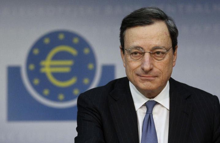 Präsident der Europäischen Zentralbank: Mario Draghi