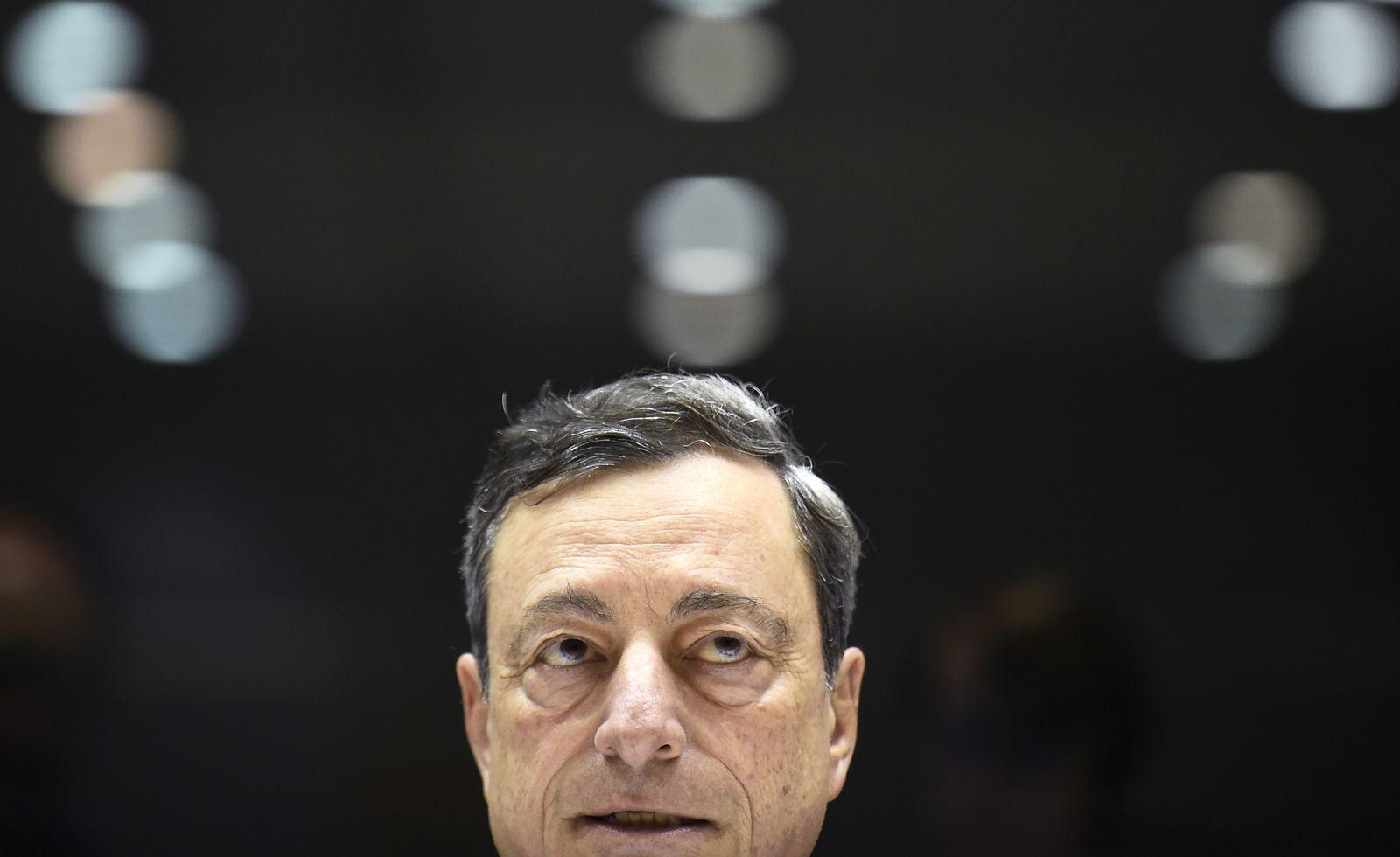EZB/ Draghi