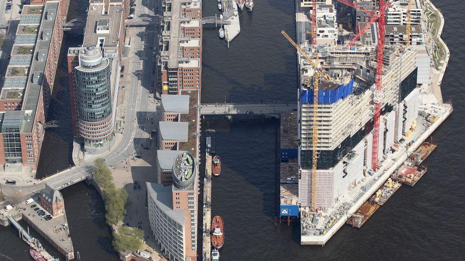 Wohnen in der Hamburger Hafencity: Schick, aber teuer