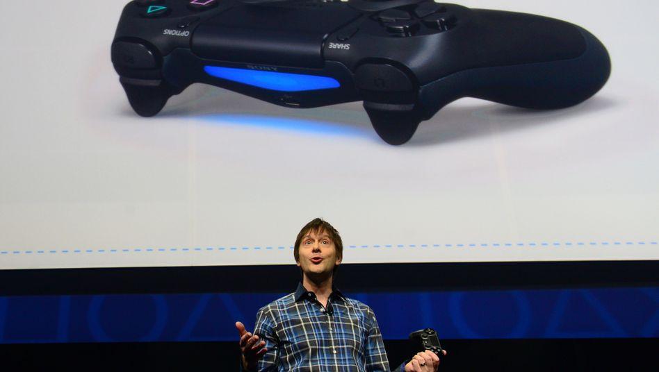 Controller der neuen PlayStation 4: Fünf Jahre Entwicklungszeit