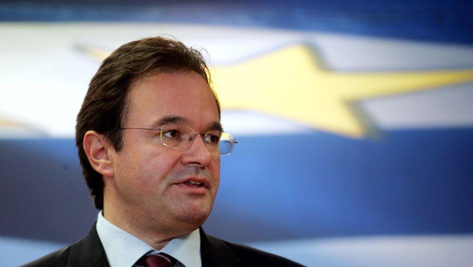 Griechenlands Finanzminister George Papaconstantinou: Hält den Staat auf Sanierungskurs