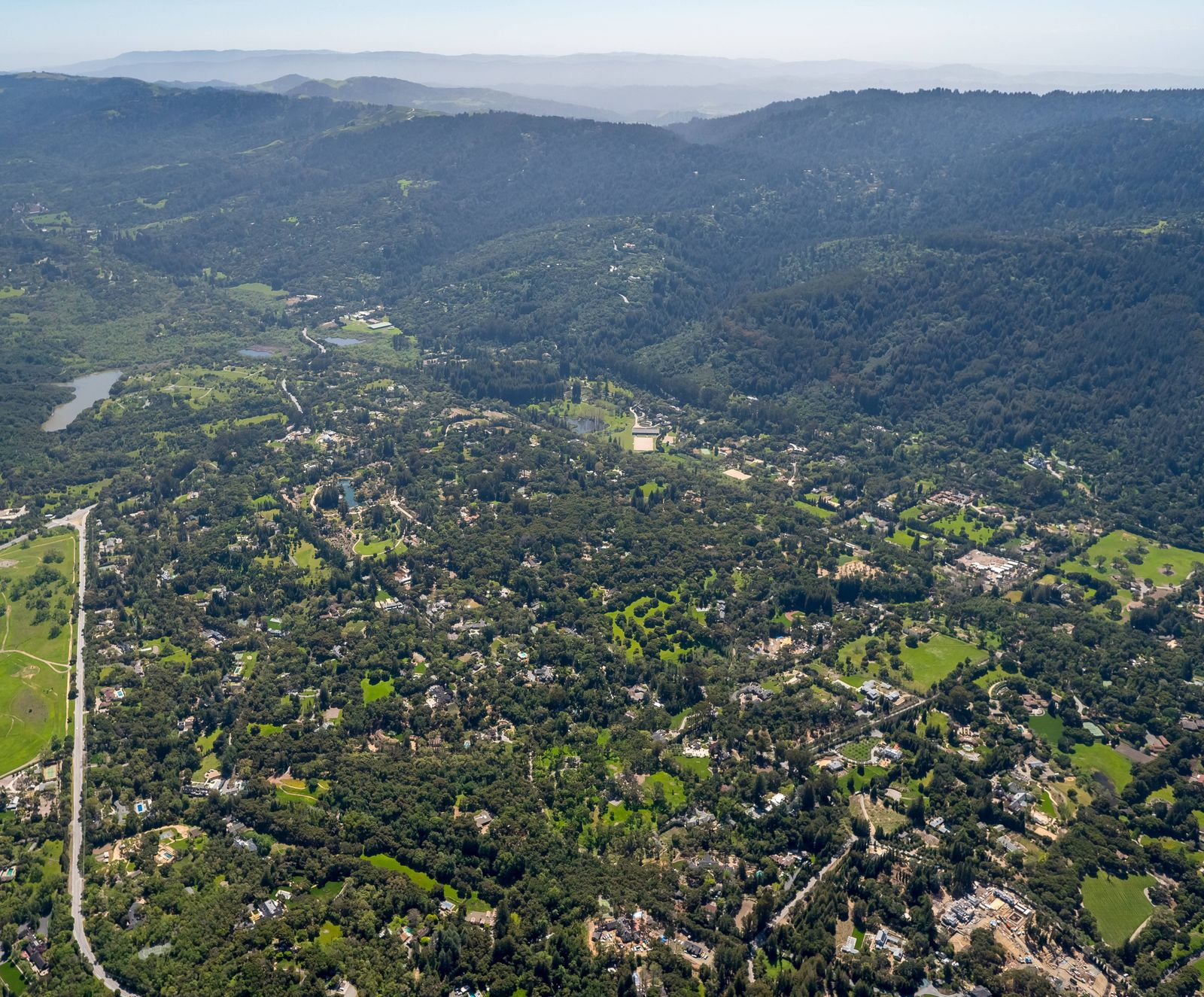 EINMALIGE VERWENDUNG Woodside / Kalifornien