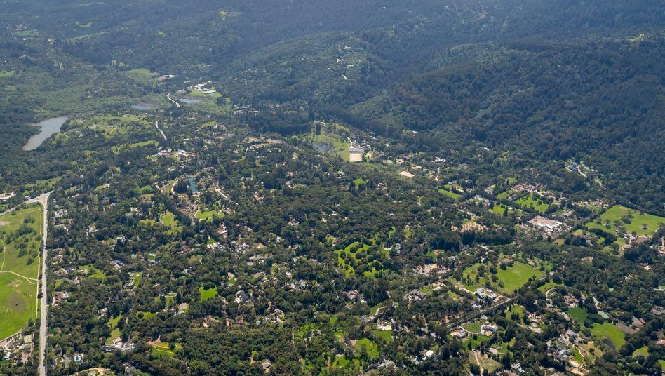 Woodside in Kalifornien: Hier lassen sich die Tech-Milliardäre ihren Reichtum in Beton gießen