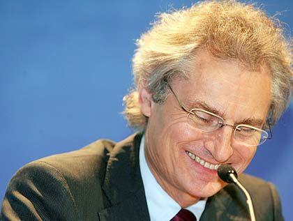 Kagermann hat gut lachen: SAP gewinnt Marktanteile