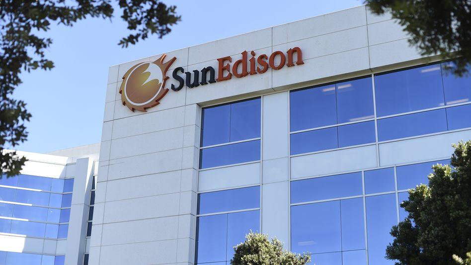 Firmensitz von Sun Edison in Kalifornien: Riskantes Wachstum
